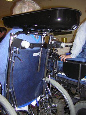 Lave tete fauteuil roulant