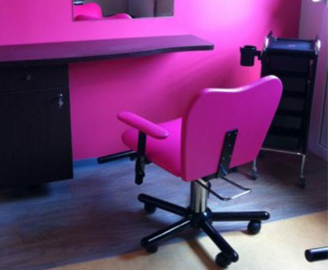 Coiffeuse Mono Place avec Meuble et son fauteuil Kasai