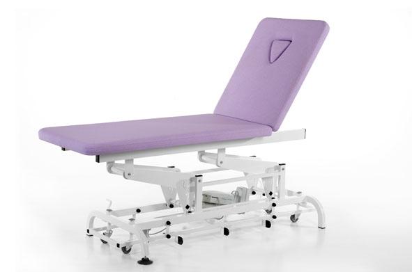 table de soins électrique réalisée en gamme M1
